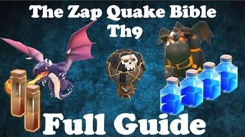 The ZapQuake BIBLE - Full Exclusive 3 Star Guide For Th9 Bases - January 2016
