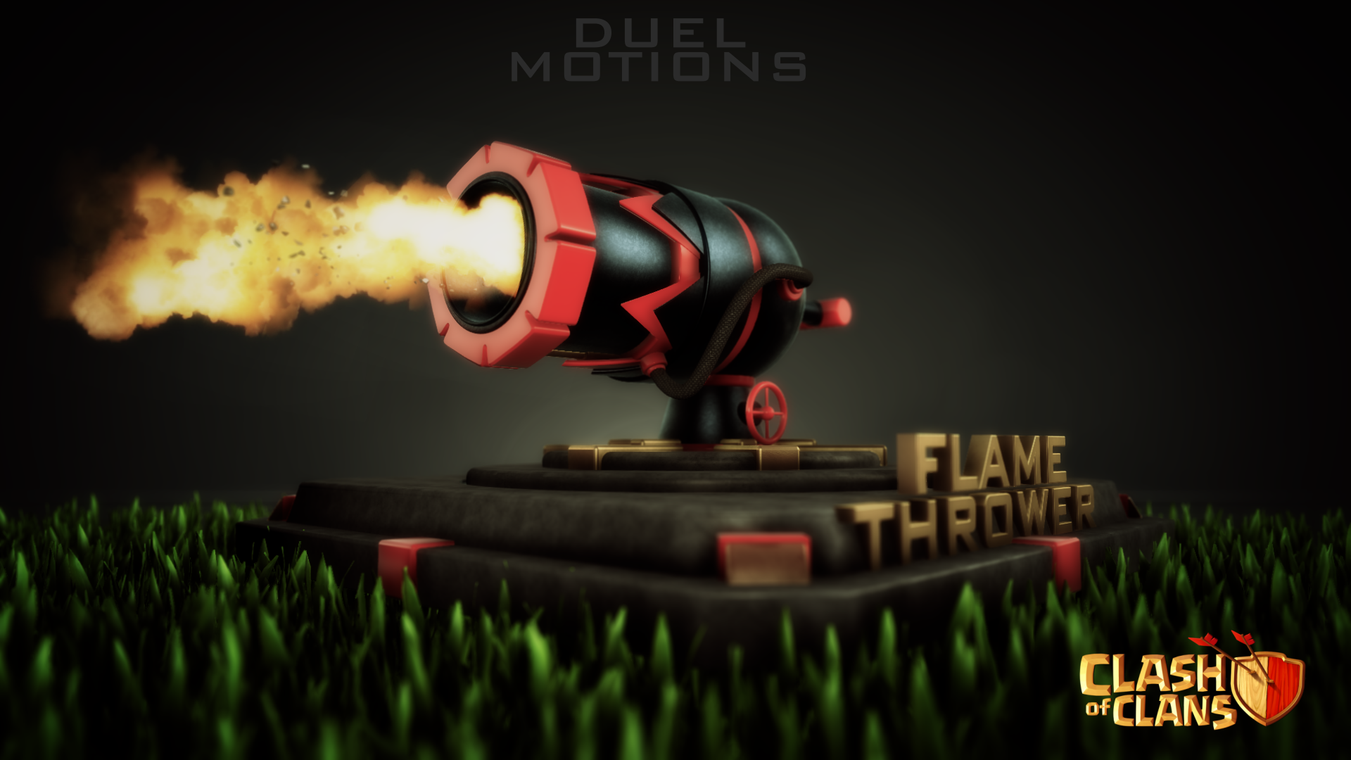 Image - Clash of clans Flame thrower lvl 3 00029.png ...