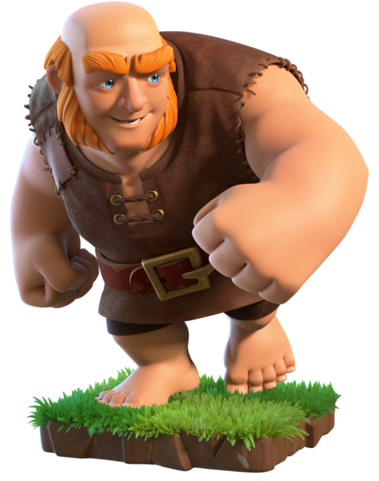 Giant | Clas... Clash Of Clans Level 4 Giants