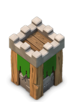 archer tower clash of clans level 6