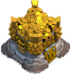 clash of clans Gold Storage