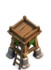 archer tower clash of clans level 4