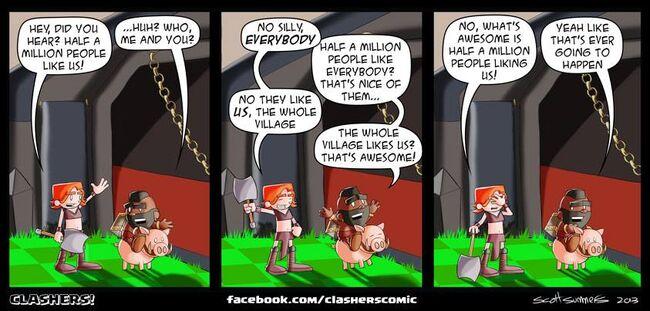 Clashers Comic 22