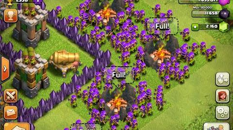 Clash Of Clans Level 7 Archer Attack Only