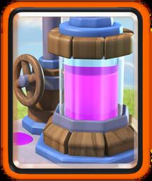 نتیجه تصویری برای Elixir Collector clash royale