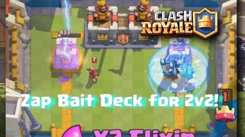 One of my favourite decks 2v2 Gameplay Clash Royale ft. elu5ive