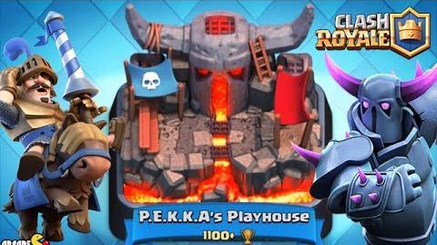Clash Royale - P.E.K.K.A's PLAYHOUSE Top Player Arena Battle! | Clash ...