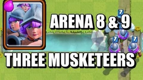 Three Musketeers Arena 8 & 9 Deck
