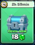 Unlocking silver chest