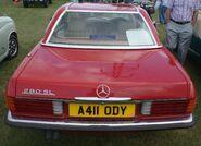 Merc 280 SL rear