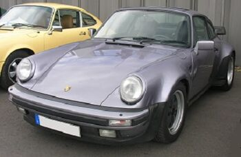 Porsche 930, at the Nürburgring, by Abehn on Wikipedia