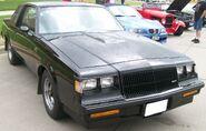 Black Buick Regal Grand National