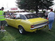 Mk3 Cortina Rear View