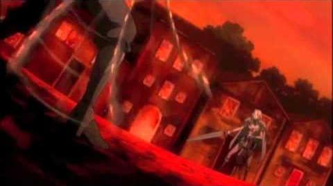 Claymore Boss challenges Teresa with Falcon Sword