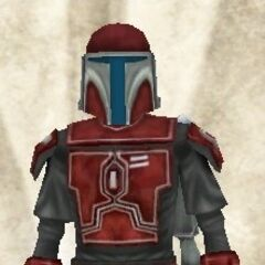 Malek's first Mandalorian armor, which he recieved at age eleven (39 BBY-36 BBY)