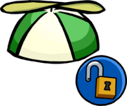 Green Propellor Cap unlockable icon