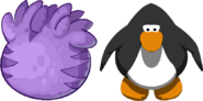 Purple T-rex Puffle Egg IG