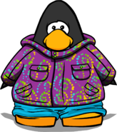 Purple Whirl Snowsuit PC