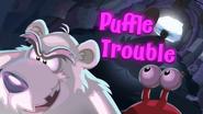 Puffle Trouble logo