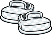 White Checkered Shoes icon