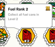 Fuel rank 2 stamp book