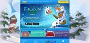 FrozenFeverPartyHomepageScreen3