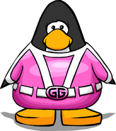 Gamma Gal Costume from a Player Card