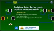 Astro Barrier Membership Error