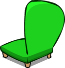 Green Plush Chair sprite 004