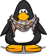 Chestnut Checker Scarf from a Player Card