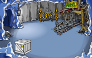 Puffle Party 2010 construction Mine