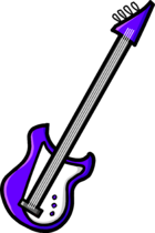 Purple Electric Bass clothing icon ID 5067