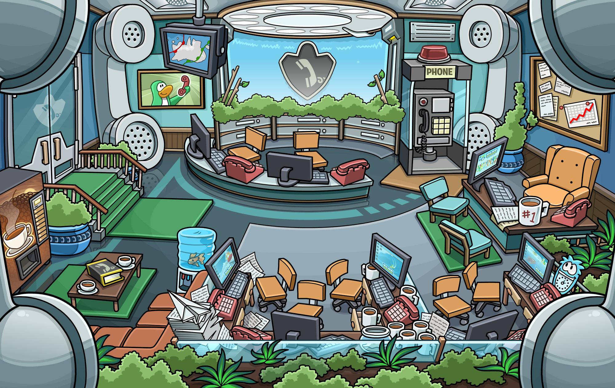 Everyday Phoning Facility Club Penguin Wiki Fandom