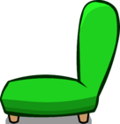 Green Plush Chair sprite 003
