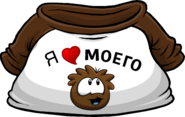 I Heart My Brown Puffle T-Shirt icon ru