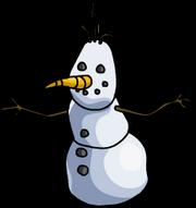 SnowmanFrozenPartySnowForts