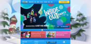 InsideOutPartyHomepageScreen