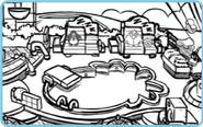 Puffle Hotel Sketch