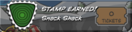 Snack Shack Stamp Earned
