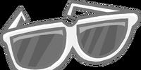 Giant White Sunglasses