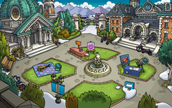Monsters University Takeover Campus Quad
