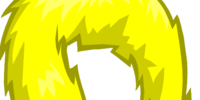 Yellow Feather Boa
