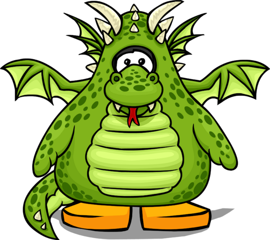 File:Green Dragon Costume from a Player Card.PNG