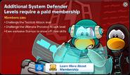 System Defence Membership Error