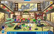 Dojo Preparing for Card-Jitsu