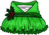 Holly Elf Dress clothing icon ID 4287