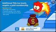 Thin Ice Membership Error
