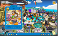 PH spotted at Puffle Hotel Roof in German server Gletscher