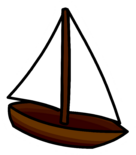 Toy Sailboat Pin