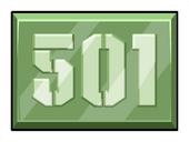 Area 501 Pin icon